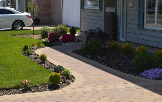 Sidewalk and Walkway